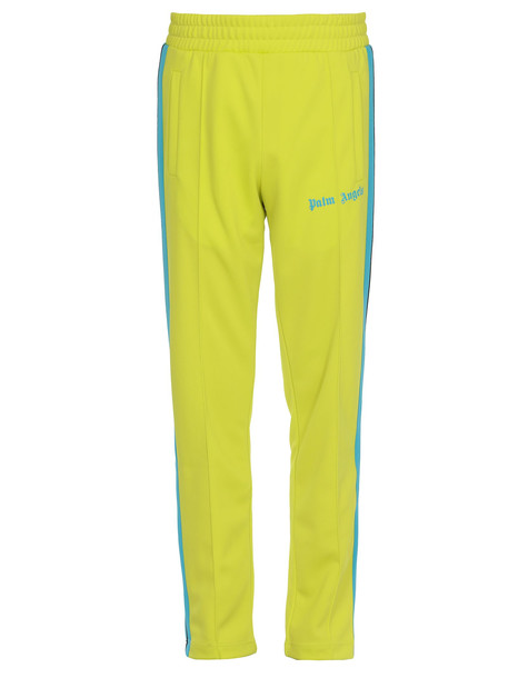 Palm Angels Tech Fabric Tracksuit Trousers in blue / green