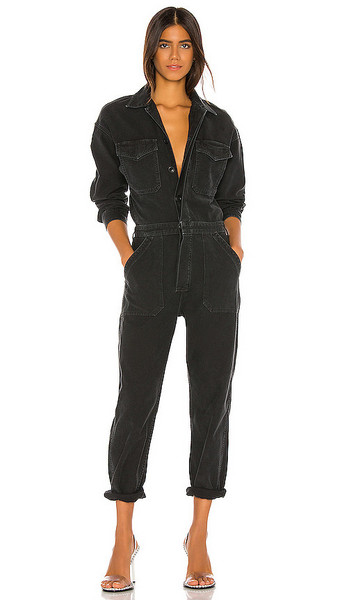 Citizens of Humanity Marta Jumpsuit in black