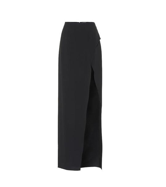 Mugler Slit skirt in black