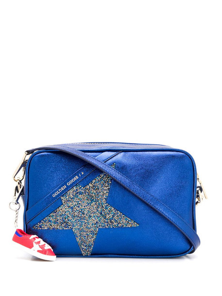 Golden Goose Star crossbody bag in blue