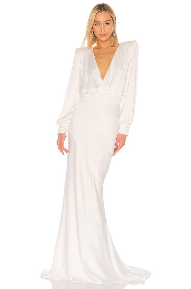 Zhivago Betsy Gown in white