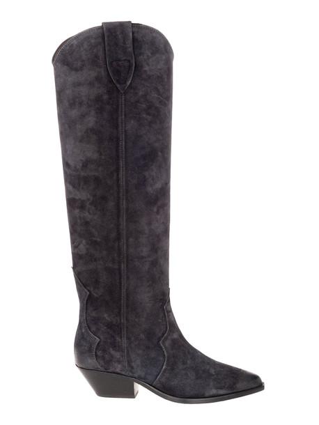 Isabel Marant Denvee Knee-high Boots in black