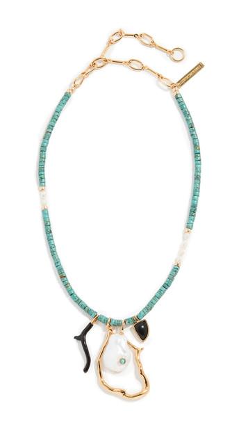 Lizzie Fortunato Blue Horizon Necklace