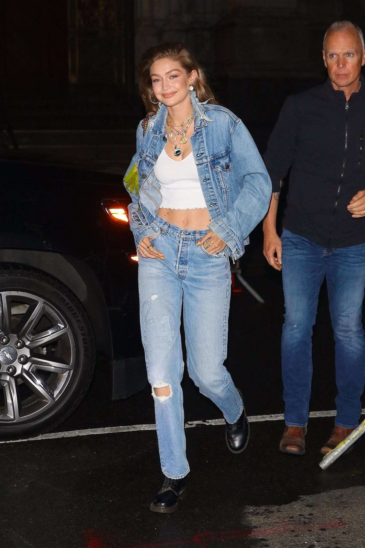 shoes DrMartens gigi hadid model off-duty top crop tops white top jacket