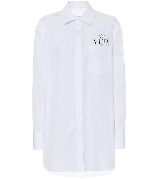 Valentino Cotton shirt in white