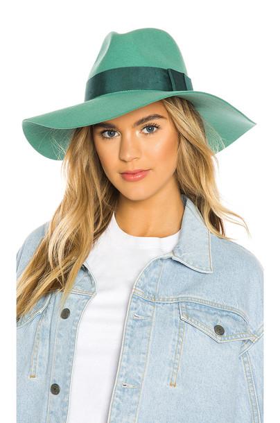 Brixton Piper Hat in green