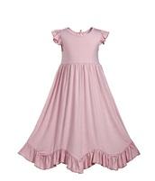 dress,everweekend,girls dress,girls' dress,maxi,maxi dress,ruffle,ruffle dress,kids fashion,kids dress