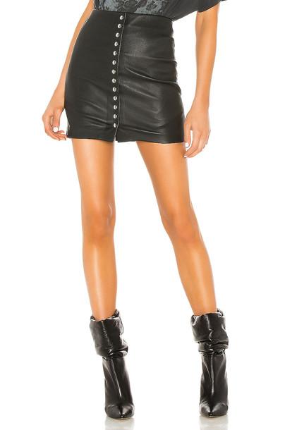 IRO Costa Skirt in black