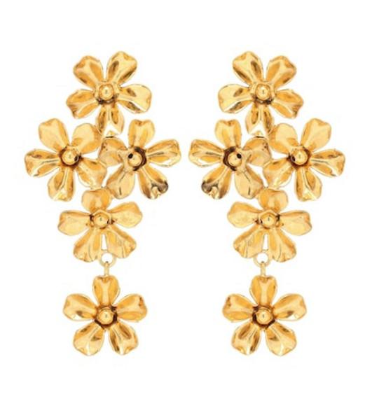 Jennifer Behr Dani drop earrings in gold