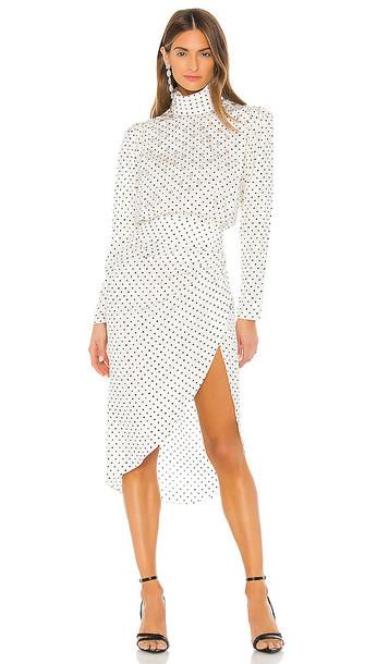 Ronny Kobo Kiara Dress in White
