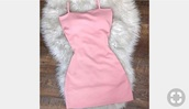 dress,pink,straps,strappy,tight,short,pink dress,pinterest,short dress