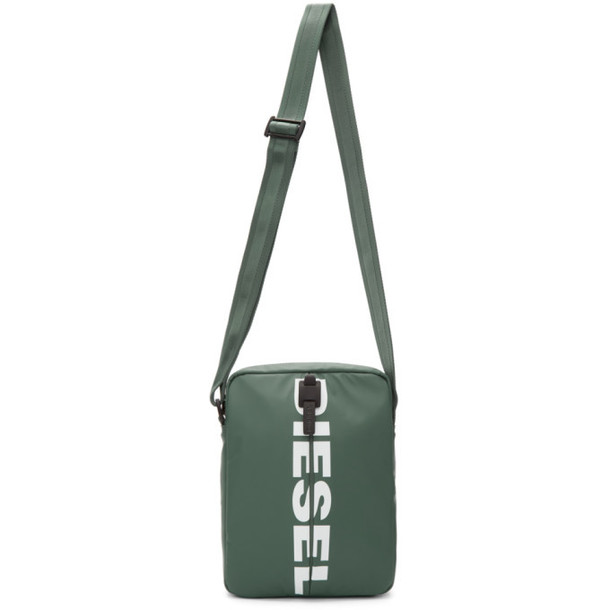 Diesel Green F-Bold Messenger Bag