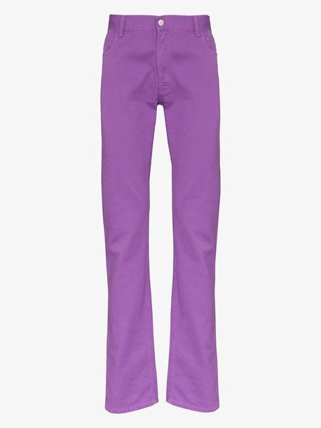 Raf Simons slim fit cotton jeans
