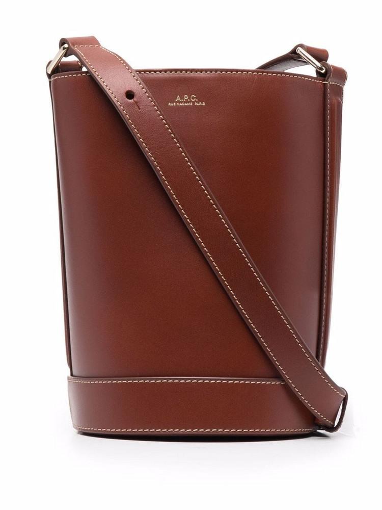 A.P.C. A.P.C. Sac Ambre bucket bag - Brown