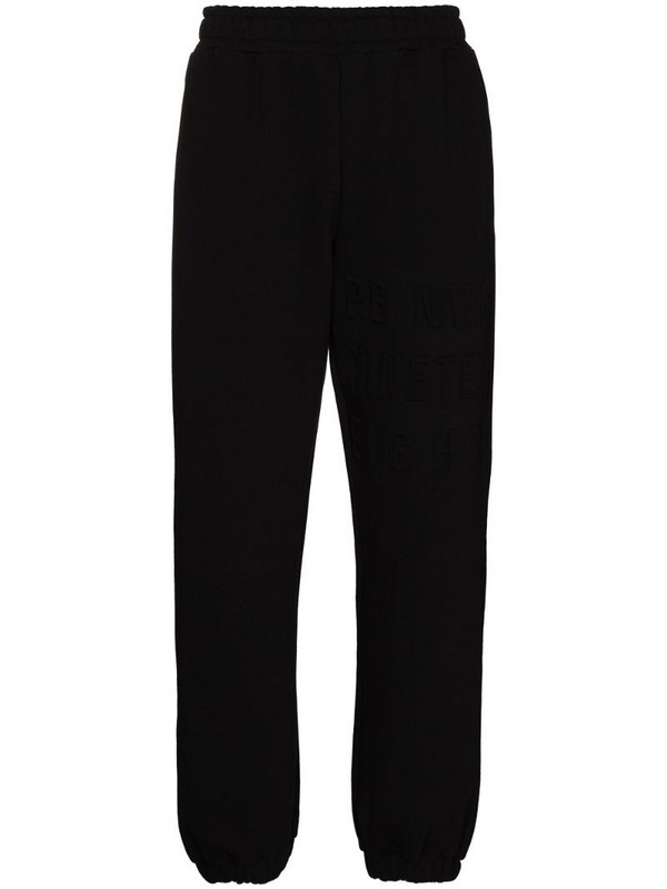P.E Nation power play track pants in black