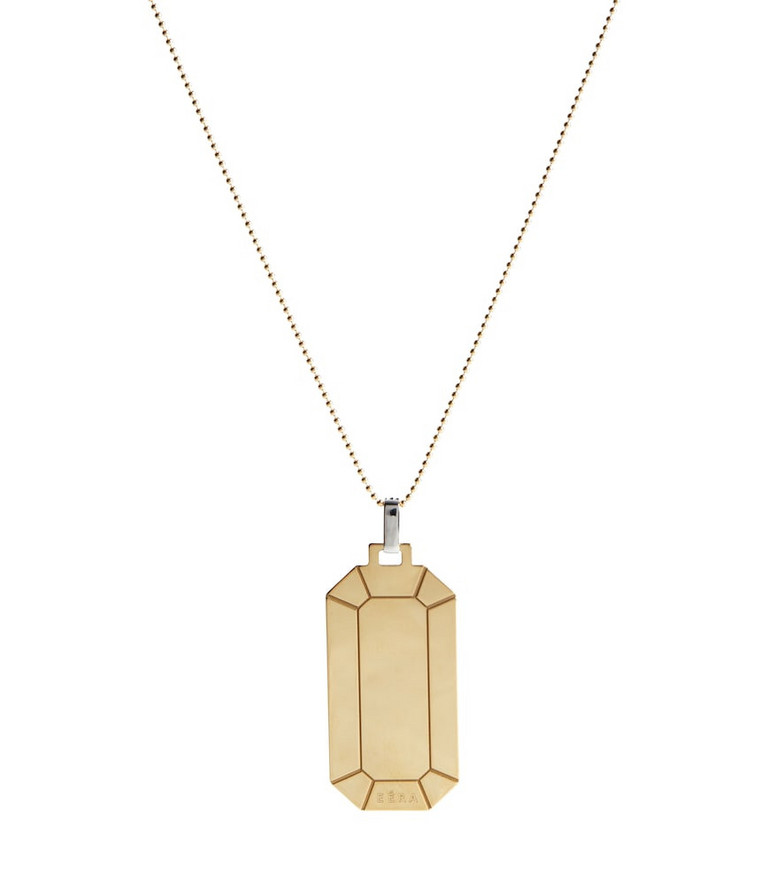 EÉRA Tokyo Big 18kt gold necklace with diamonds