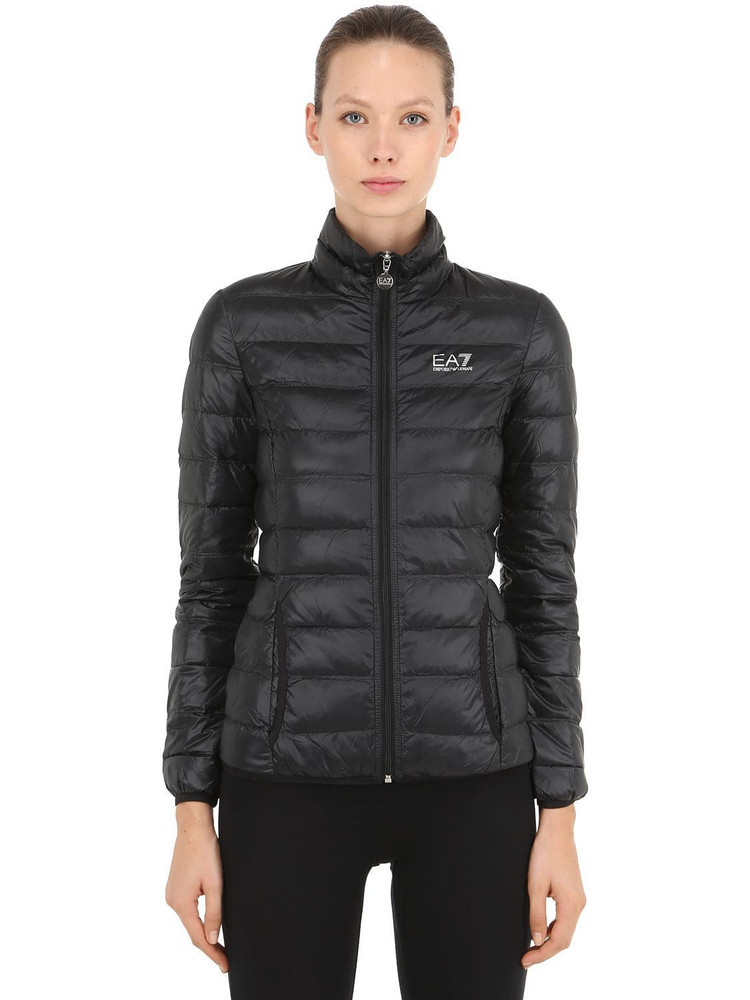 EA7 EMPORIO ARMANI Train Core Light Down Jacket in black