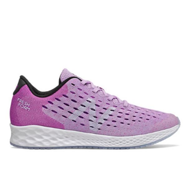 New Balance Fresh Foam Zante Pursuit Kids' Pre-School Running Shoes - Purple/Black (PPZNPVV)