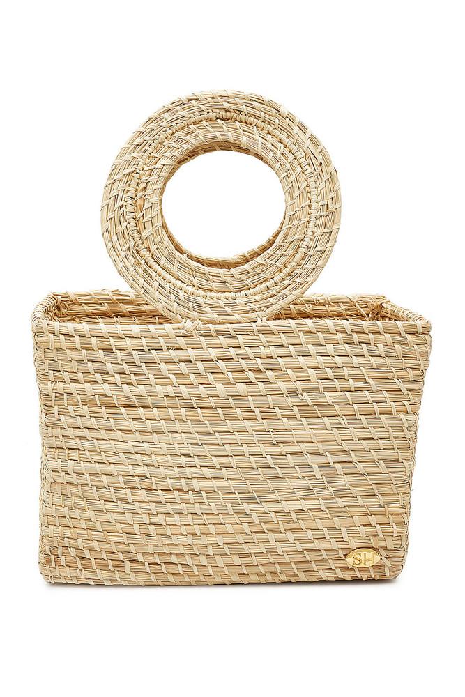 Soraya Hennessy The Clara Mini Straw Handbag