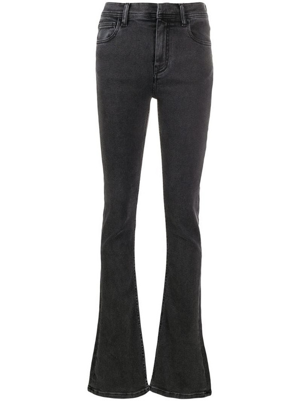 Ssheena Joyce high-waisted bootcut jeans in grey