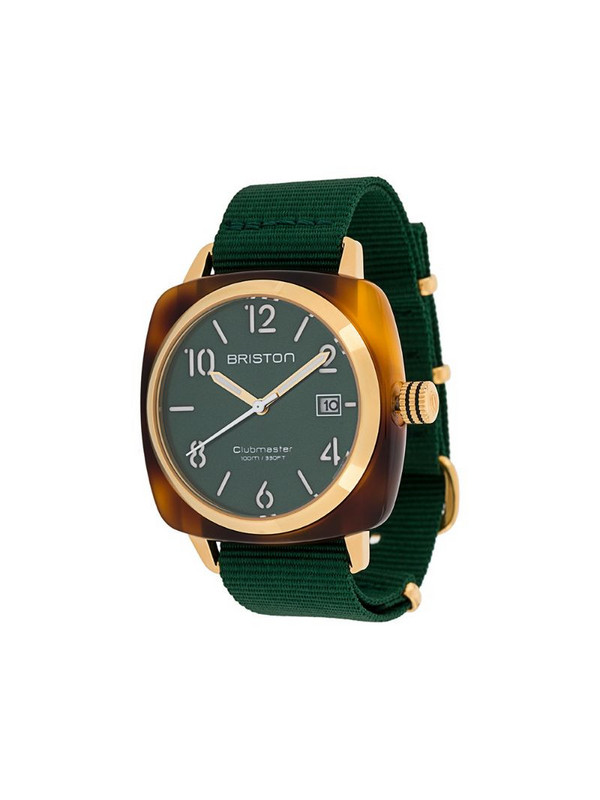Briston Watches Clubmaster Classic 40mm watch in green
