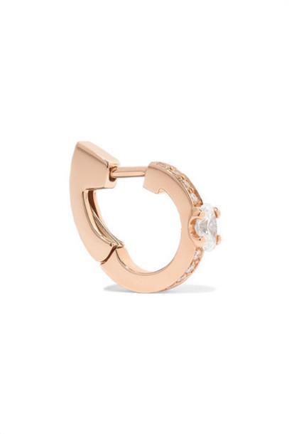 Repossi - Harvest 18-karat Rose Gold Diamond Earring