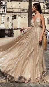 dress,gold sequins,v neck,pinterest