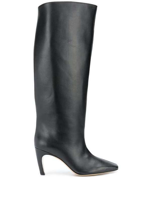 Gia Couture Clizia knee-high boots in black