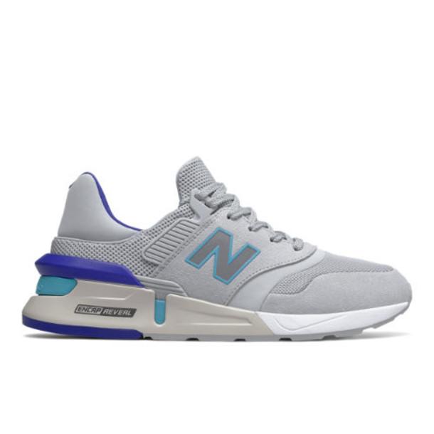 New Balance 997 Sport Men's Sport Style Shoes - Grey/Blue (MS997RA)