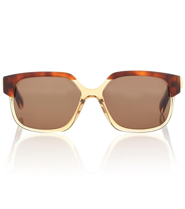 Celine Eyewear Maillon Triomphe 02 sunglasses in brown
