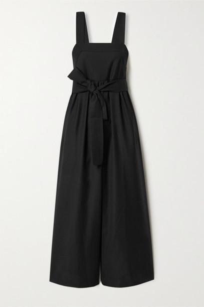 APIECE APART - Tula Belted Wool Jumpsuit - Black