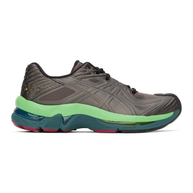 Kiko Kostadinov Grey Asics Edition Gel-Teserakt Sneakers in green