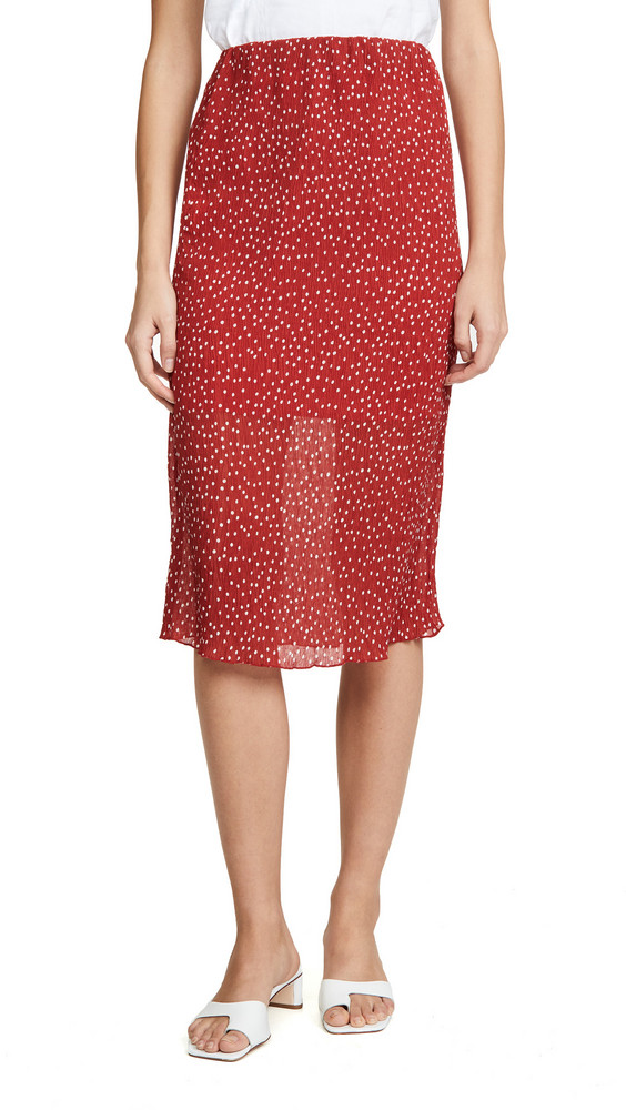 The Fifth Label Assemblage Skirt in red / white