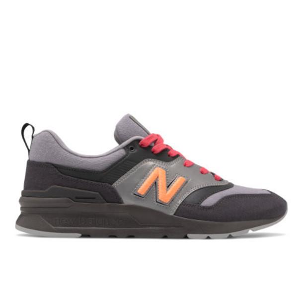 New Balance 997H New Era Men's Classics Shoes - Grey/Red (CM997HNE)