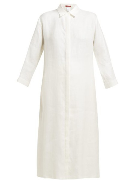 Max Mara Studio - Cardato Dress - Womens - White