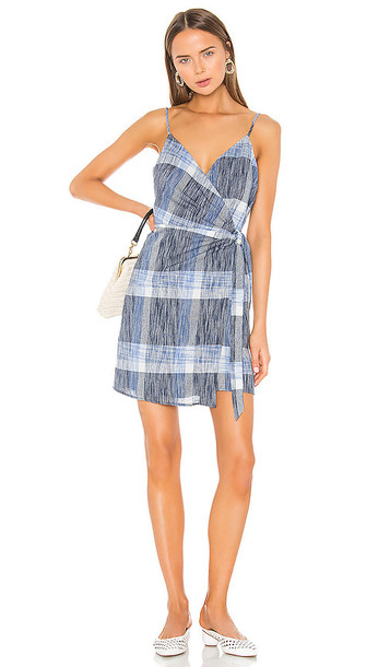 HEARTLOOM Whyatt Dress in Blue