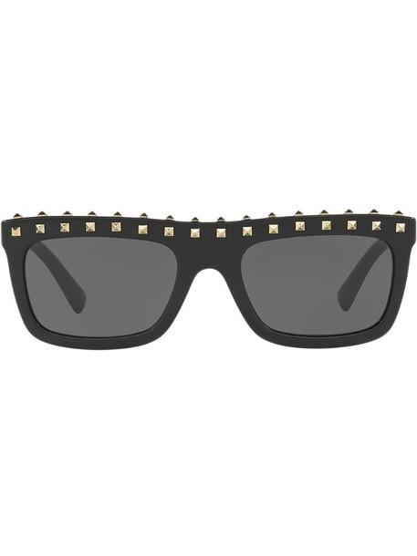 Valentino Eyewear square frame sunglasses in black