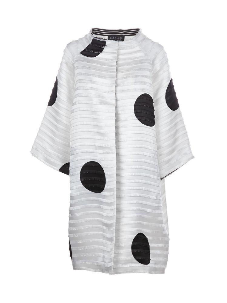 Gianluca Capannolo Coat in nero / bianco