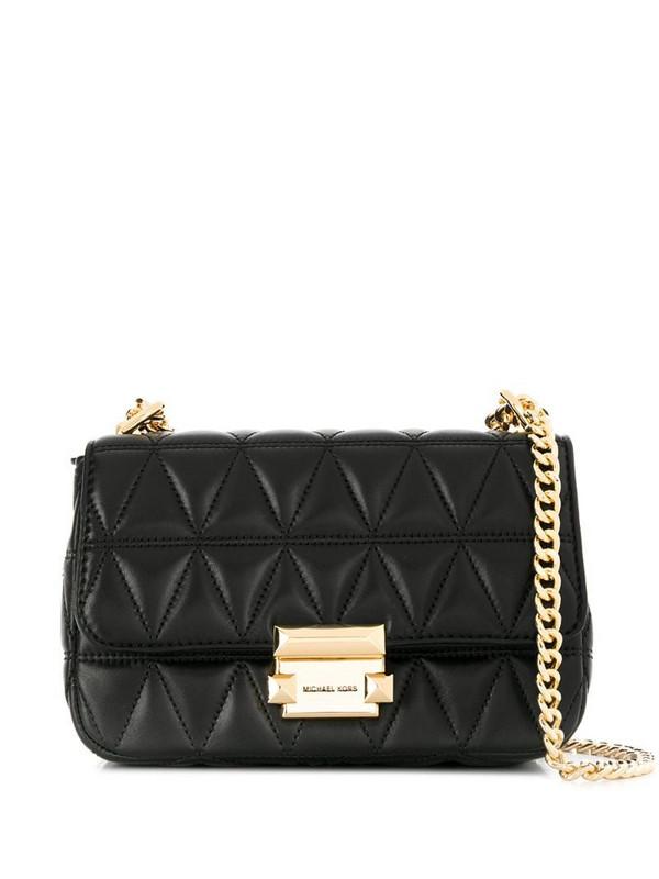Michael Kors Sloan shoulder bag in black