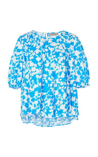 Preen Line Taj Top in blue