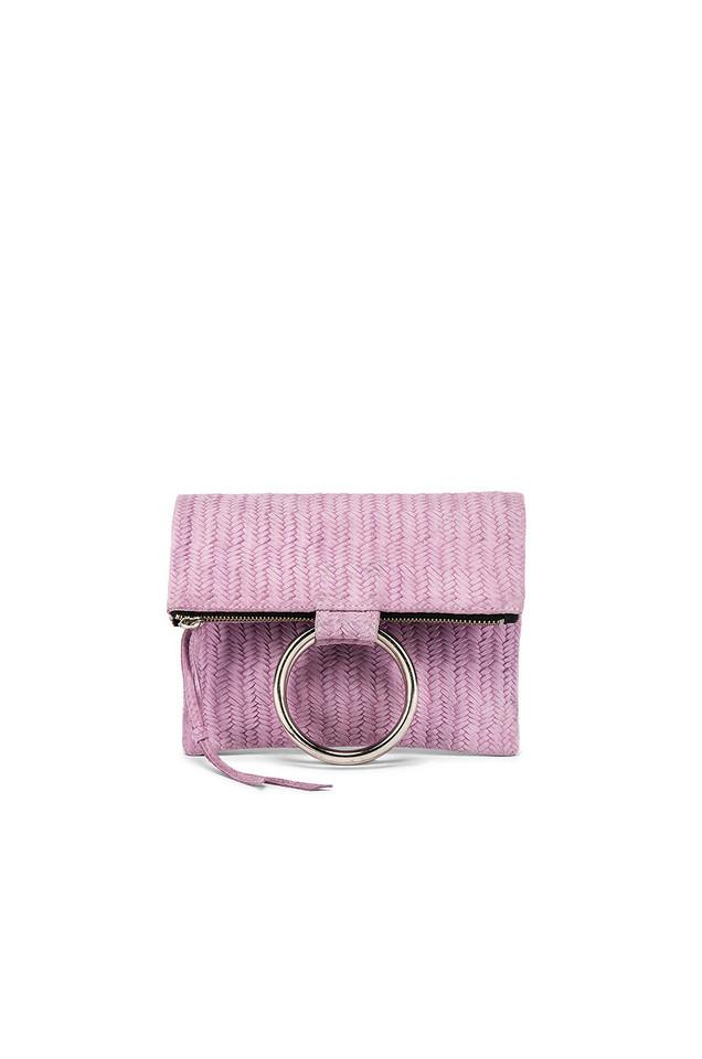 Oliveve Laine Ring Bag in lavender