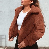jacket,fur,fur coat,fuzzy coat,fur jacket,faux fur,comfy,zip-up,zip,zip up jacket,fashion,fall outfits,trendy