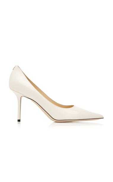 Jimmy Choo Love Patent Leather Pumps in neutral