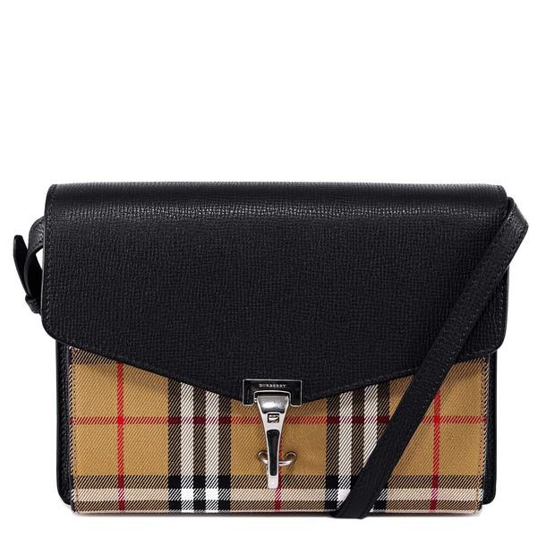 Burberry The Small Macken Shoulder Bag in black