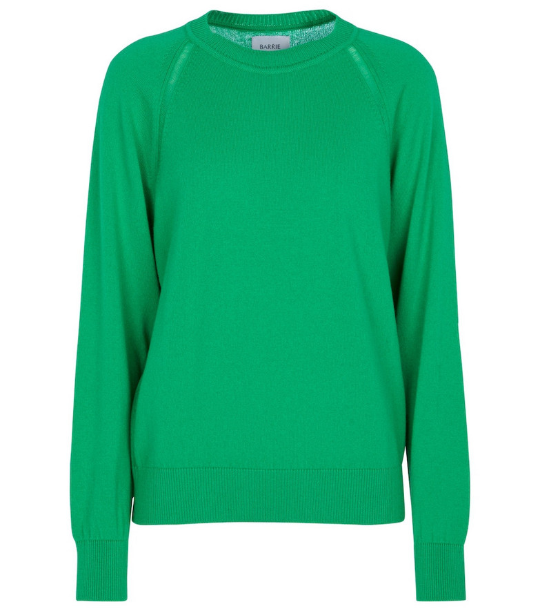 Barrie Cashmere sweater in green