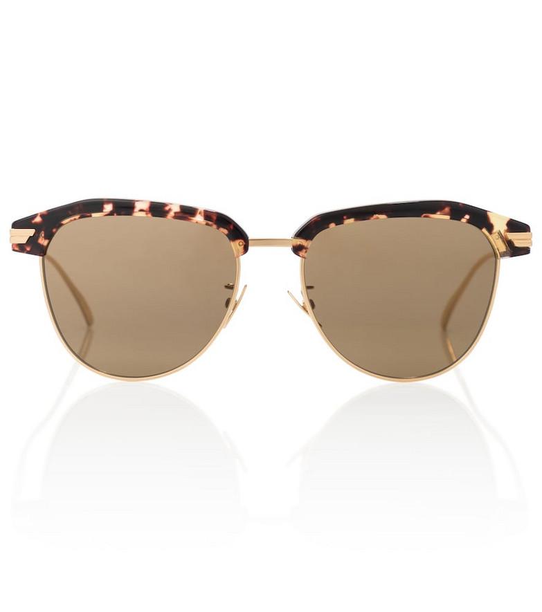 Bottega Veneta Tortoiseshell sunglasses in brown
