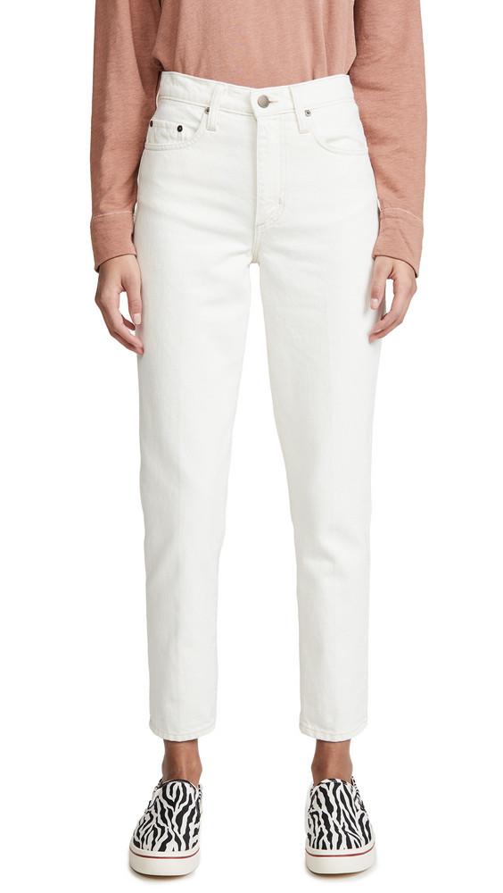 Nobody Denim Bessette Jeans in ecru