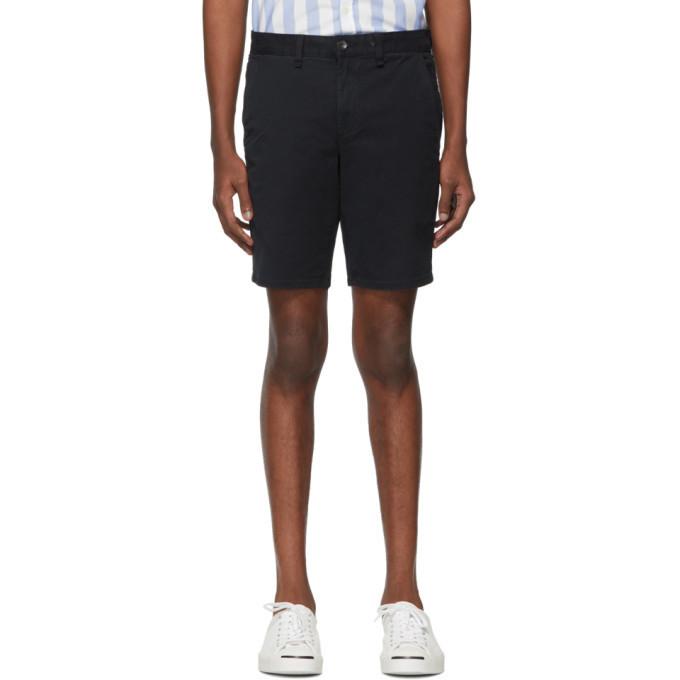 rag and bone rag & bone Navy Classic Chino Shorts