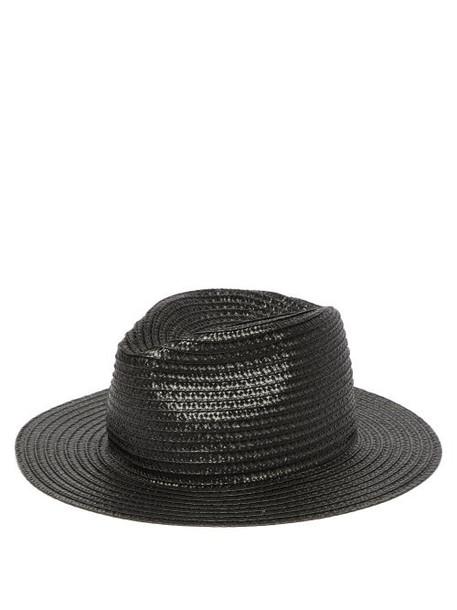 Reinhard Plank Hats - Beghe Woven Hat - Womens - Black
