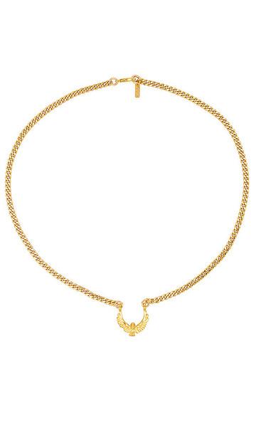 joolz by Martha Calvo Aquila Necklace in Metallic Gold